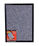 Dooley Boards Black Framed Speckled Surface Bulletin Board , 17 x 23 Inches, Black (1824SPBL)