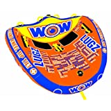 World of Watersports Lugz 2 Person Ski Tube by WOW Sports