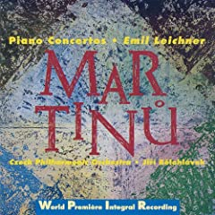 Martinu: Piano Concertos Nos 1-5, Concertino H. 269