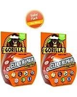 Gorilla Glue 6027002 Clear Repair Tape, 2-Pack