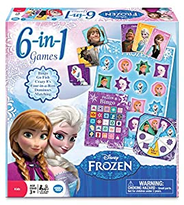 Frozen 6-in-1 Classic Games by Wonderforge