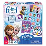 The Wonder Forge Frozen 6-in-1 Game Collection, Multi Color