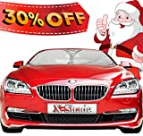 ★ Car Sunshade Jumbo ★ - Shields Vehicle From The Sun - Keep It Cool - Easy & Convenient to Use - Best For Front Windshields - Pop Up Style High Quality UV Protector - Retractable & Folding Outdoor Car Windshield Blinds - 100% Money Back Guarantee!