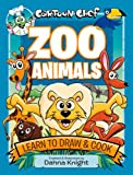 D Knight Cartoon Chef Zoo Animals: Learn to Draw and Cook