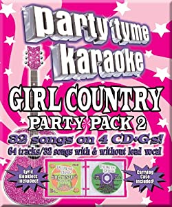 Party Tyme Karaoke: Girl Country Party Pack 2