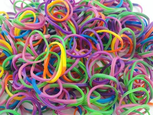 Tie Dye Rubber Band Refills - Assorted Tie Dye - 1