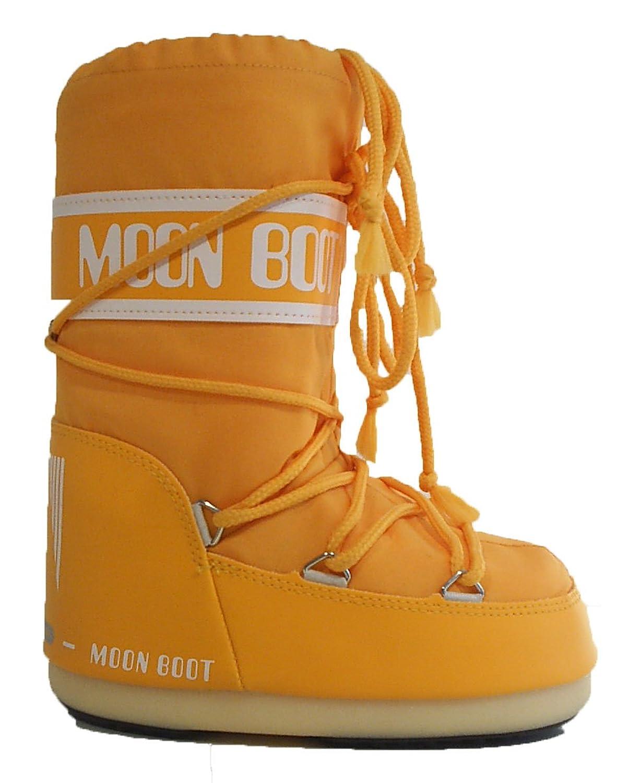 Kinder Moonboots Moon Boot Boots Tecnica Schnee Stiefel orange