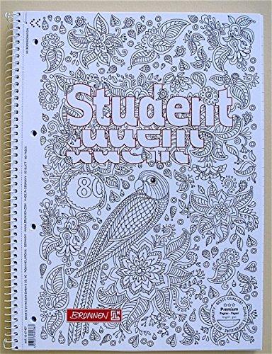 brunnen-collegeblock-a4-liniert-zen-art-80-blatt-mit-rand-90g-m-inkl-zen-art-bild-10-67427