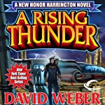 A Rising Thunder: Honor Harrington, Book 13 (       UNABRIDGED) by David Weber Narrated by Allyson Johnson
