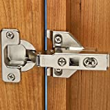 """Blum® 100° Overlay Clip Top Hinges 3/8"""" - 5/8"""" Overlay for Face Frame Applications (Pair)"""