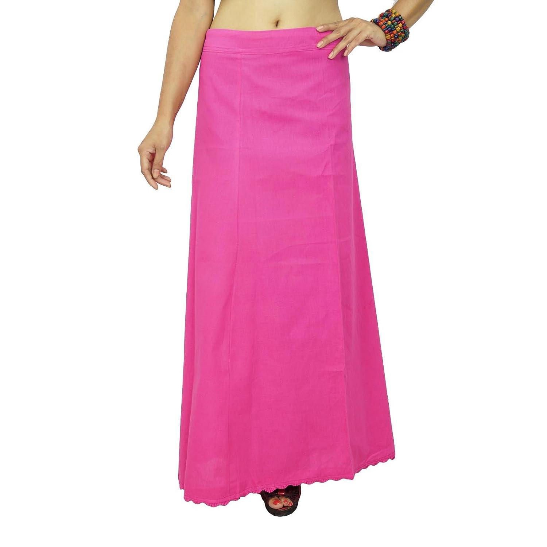 Bollywood Solide Baumwolle PetticoatUnderskirt indischen Futter für Saree online kaufen