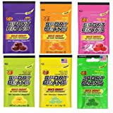 Jelly Belly Sport Beans, Energizing Variety Pack, 1-Ounce Bags (24 Count) - 4 of each flavor