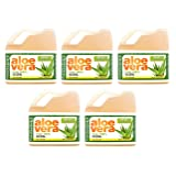 Fruit Of The Earth Aloe Vera, 128 Fluid Ounce (Pack of 5)