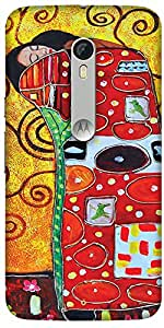 Print Haat Plastic Back Case for Moto X Style (Abstract-304)