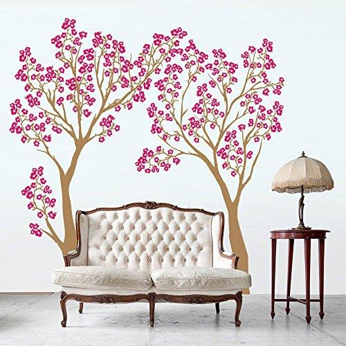 01362-adesivo-murale-wall-art-alberi-allombra-dei-ciliegi-misure-160x160-cm-nocciola-e-fucsia-decora