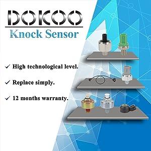 Doicoo Ignition Knock Detonation Sensor 8961502020 for Toyota 4Runner Camry Corolla Highlander Matrix RAV4 Lexus ES330 GS430 GX470 IS250 LS430 RX330 RX400H Pontiac Vibe Scion tC