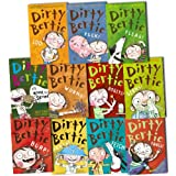 ALAN MACDONALD DIRTY BERTIE 10 Books Collection Pack Set RRP: �54.89 (PANTS!, Fangs!, Worms!, Fleas!, Mud!, Yuck!, Bogeys!, Burp!, Fetch!, Germs!)by ALAN MACDONALD