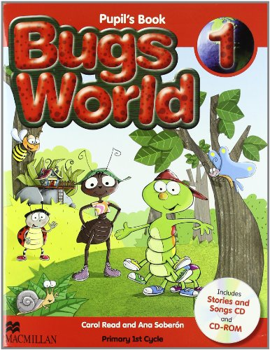 Bugs world 1 pupil's pack