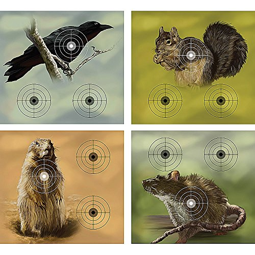 Crosman Varmint Targets, 20-Pack (Airsoft Animal Targets compare prices)