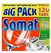Somat 5 Tabs, Geschirrsp�ltabs, Big Pack, 120 Tabs