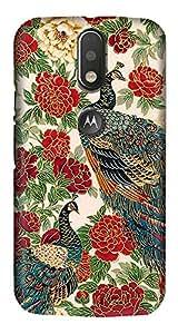 Meet Arts motoG4_Rd1345 Back Cover for Motorola G4 Plus