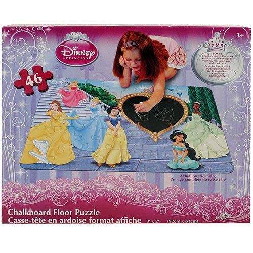 Cheap Disney Disney Princess Chalkboard Floor Puzzle (B005FQ7RZK)