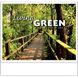 Living Green Stapled Appointment Calendar Trade Show Giveaway