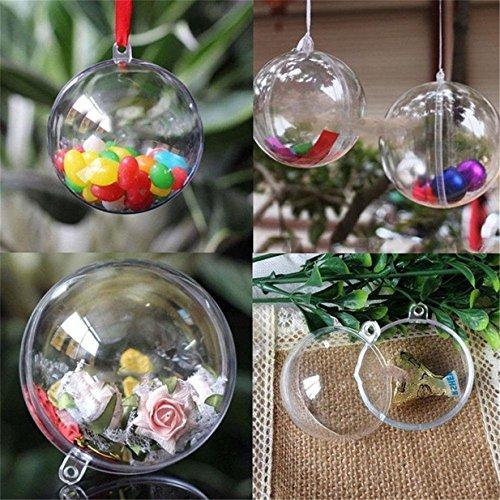 Lalang-Boule-de-dcoration-boule-de-Nol-Transparent-Fillable-Ball-Ornament-Noel-en-Plastic-Acrylic-Pack-of-12-60mm