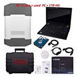VXDIAG Multi Diag Diagnostic Tool 12 Cars in 1 Device with T420 Replacement for GM TECH2 JLR Land Rover BMW icom a2 a3 for Toyota it3 it2 HDS VCM Vcads Star C4 with Used Laptop (Tamaño: 12 in 1 + HDD+ Laptop)