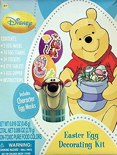 Winnie the Pooh Easter Egg Decorating Kit - 1