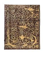 CarpeTrade Alfombra Deluxe Persian Vintage (Amarillo/Marrón)