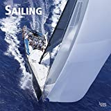 Sailing 2019 12 x 12 Inch Monthly Square Wall Calendar, Boat Ocean Sea Sport (Multilingual Edition)