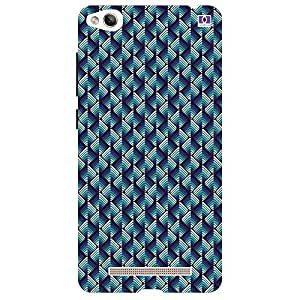 Blue & Lavender Design - Mobile Back Case Cover For Xiaomi Redmi 3S