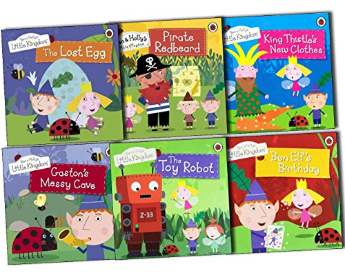ben-hollys-little-kingdom-6-books-collection-pack-the-lost-egg-gastons-messy-cave-the-toy-robot-ben-