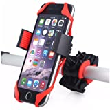 Universal Premium Bike Phone Mount for Bicycle - Bike Handlebars, with Adjustable Silicone Support, Holds Phones Up to 3.5 Wide