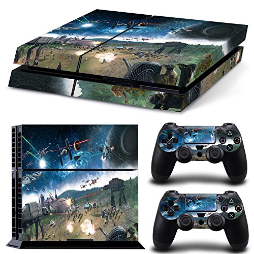 FreeSticker-PLAYSTATION-4-Designer-Skin-Game-Console-System-2-Controller-Decal-Vinyl-Protective-Stickers-Sony-PS4-STAR-WARS-BATTLEFIELD