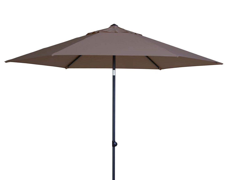 Madison Sonnenschirm Celebes 300 Push up taupe mit UV-Schutz 40 Plus bestellen