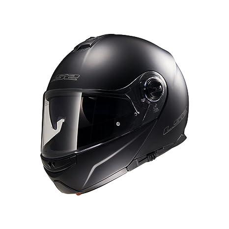 LS2 Helmets - Casque LS2 STROBE FF325 Noir Mat - Noir Mat - M