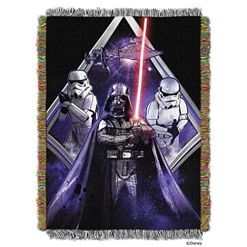 Star Wars Midnight Vader Throw