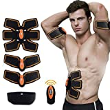 SELENECHEN Abs Stimulator Ab Toner Ab Trainer Muscle Toner ABS Fit for Abdomen and Arm Support Men Women