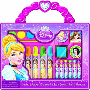 Buy Bendon Disney Princess Take Along Art Case Activity Set Online At Low Prices In India