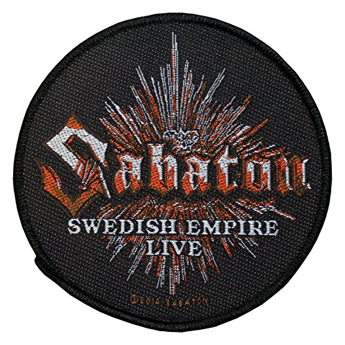 Sabaton - Toppa Swedish Empire Patch Tessuto 9 cm