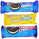 Oreo Smile, Variety Pack, 12 Single Serve Packages (Pack of 4)