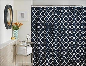 Jill Rosenwald Hampton Links Shower Curtain Navy