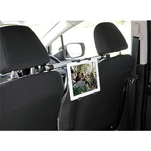 ELECOM 車載アクセサリー タブレットホルダ リアシート用連結タイプ CAR-DSTB2