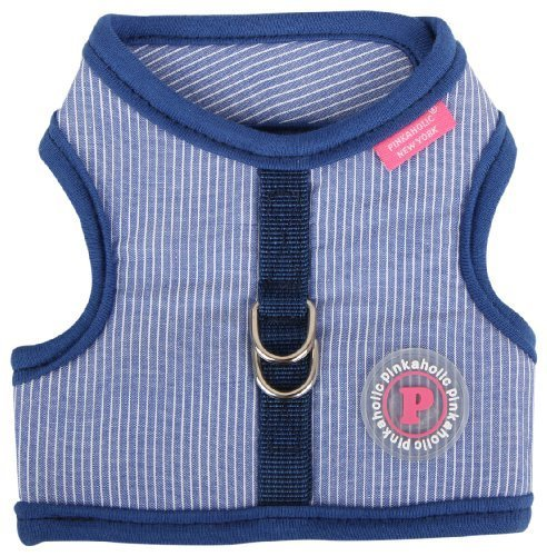 pinkaholic-new-york-downy-pinka-harness-for-dogs-navy-large-by-puppia-intl-inc-english-manual