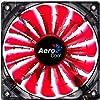 Aerocool SharkFan Lüfter rot (120x120x25)