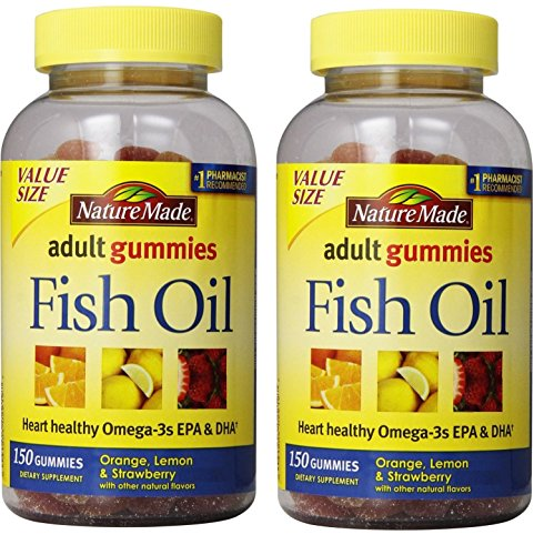 Nature made fish oil adult gummies nutritional supplements for Nature made fish oil gummies