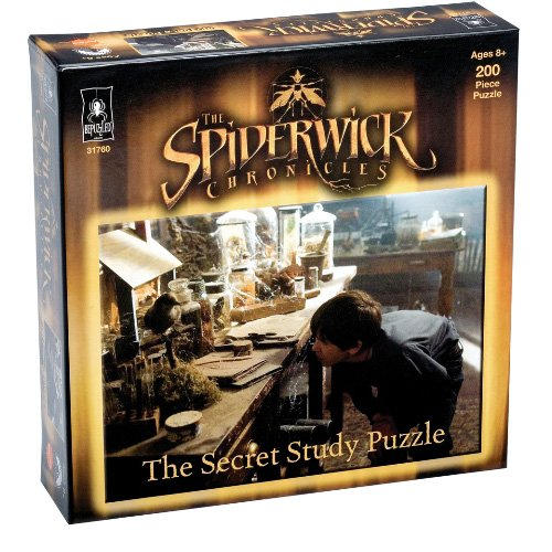 The Spiderwick Chronicles Secret Study Puzzle: 200 Pcs - 1