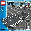 Lego - City - jeu de construction -  Virage et croisement